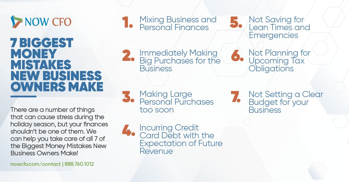 7 Biggest Money Mistakes Business' Make