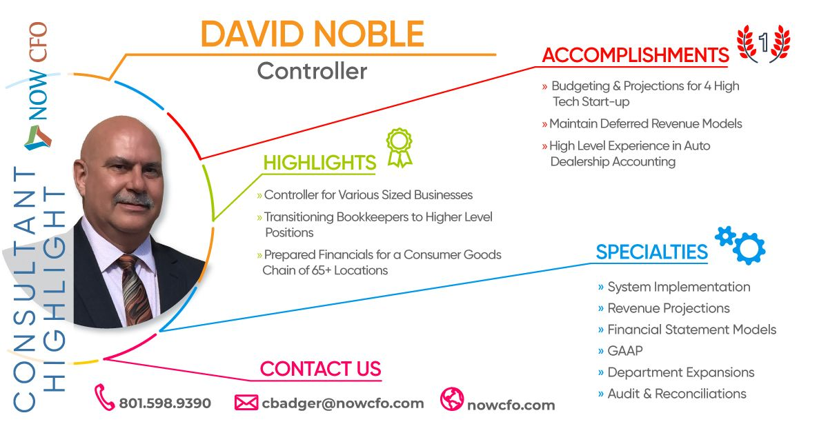 Consultant Highlight David Noble