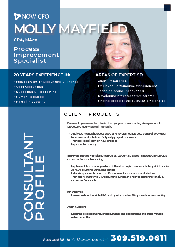 Consultant Profile Molly Mayfield