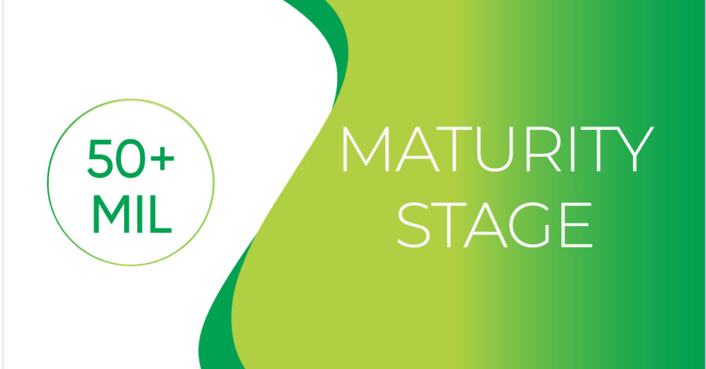 maturity stage late-stage capital raise