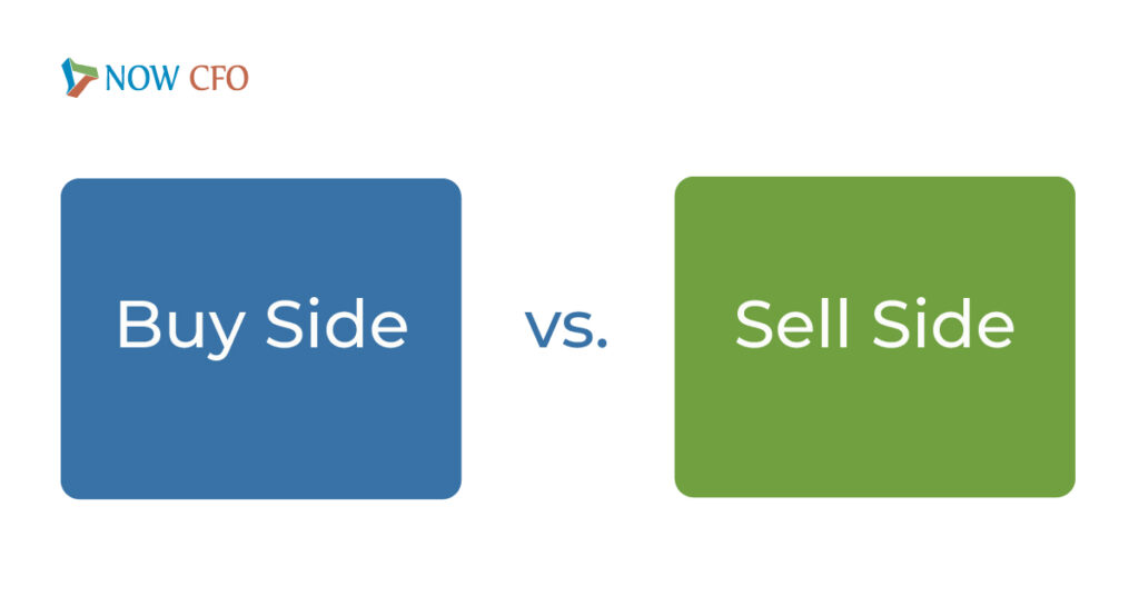 buy side vs sell side mergers and acquistions