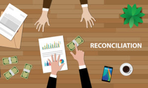 bank reconciliation clean up or catch up