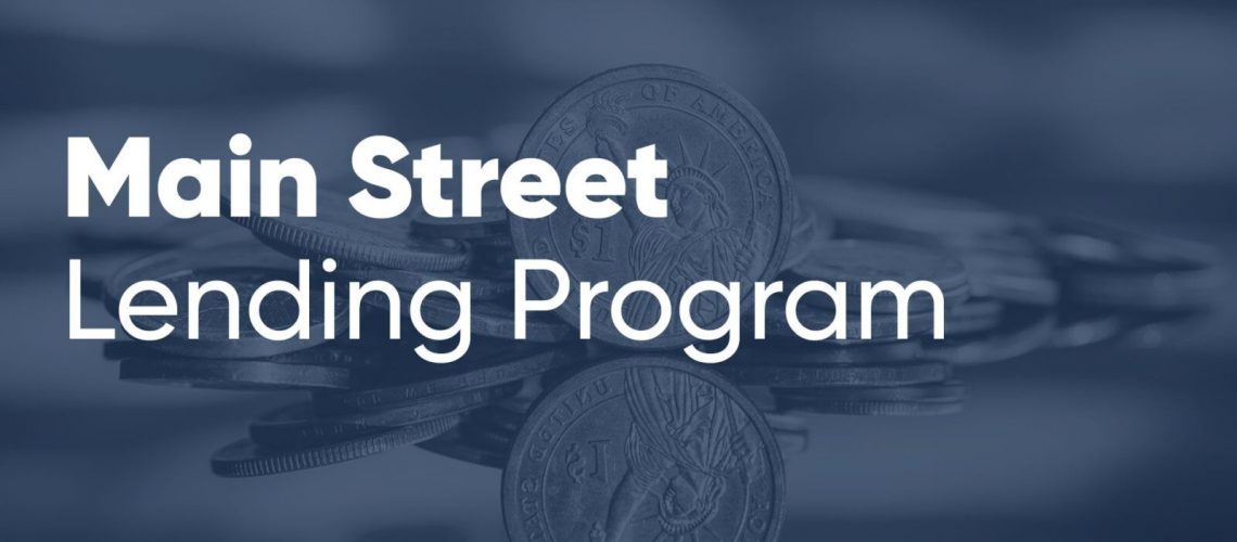 Frequently asked questions about Main Street Lending Program